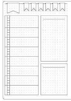 Einfaches wöchentliches Layout und Vorlage - #Einfaches #layout #und #vorlage #... -