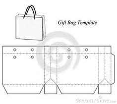Resultado de imagen de Gift Bag Template Homemade Gift Boxes, Diy Gift Box, Diy Box, Cardboard Box Crafts, Easy Paper Crafts, Paper Bag Design, Anime Crafts, Paper Box Template, Paper Purse