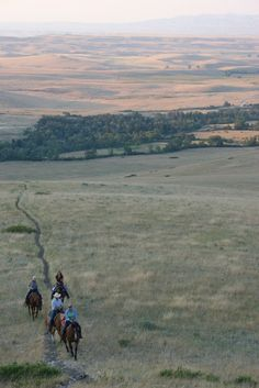 Eaton's Ranch--evening ride