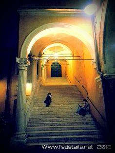 Staircase of the City Hall - Ferrara, Italy