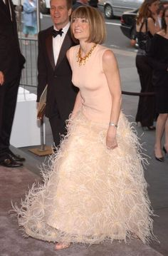 The 2003 CFDA Fashion Awards - Arrivals - Gorgeous dress, Mrs. Wintour