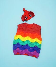 Rainbow Fish costume how-to