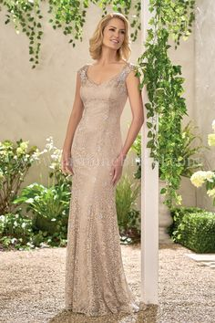 Jasmine Bridal Now this is how a mother of the bride or groom should look,classic and elegant. Love this dress!