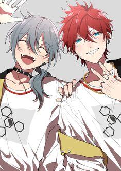 Elric Brothers, Handsome Anime Guys, Anime Scenery, Ensemble Stars, Bungou Stray Dogs, Me Me Me Anime, Manga Art, Anime Couples, Animation