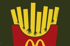 Mcdonald's : More friends. Less fries.