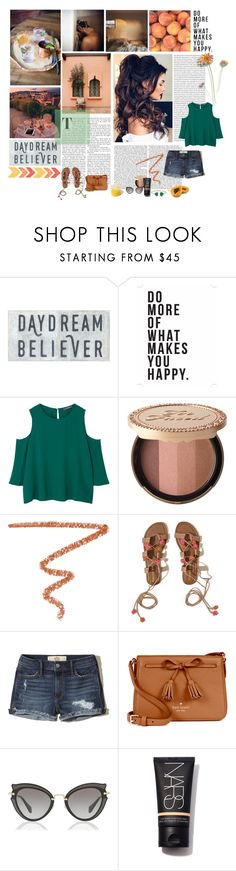 """I am in love with the way you say my name"" by milenaaaaaa ❤ liked on Polyvore featuring Native State, MANGO, Too Faced Cosmetics, Sisley, Hollister Co., Kate Spade, Miu Miu and FRUIT"