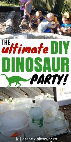 Kids LOVE dinosaurs, it never fails. Check out a great way to have some serious fun at a dinosaur party for kids without spending a fortune. This party was for my daycare kids. It would make a great birthday party too. What kid wouldn't want a dinosaur birthday party?