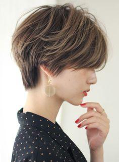 Asian Short Hair, Short Hair Cuts, Cute Hairstyles For Short Hair, Pretty Hairstyles, Medium Hair Styles, Natural Hair Styles, Shot Hair Styles, Hair Arrange, Hair Reference
