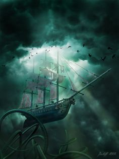 Flying Dutchman vs the Kraken