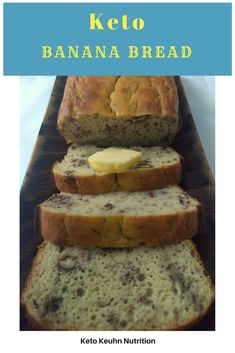 Do you miss banana bread? This recipe is very moist, just like any great banana bread. It's also easy to make with simple ingredients. You will only need one type of flour for this keto banana bread and it's not almond flour. If you can't have nuts, this recipe is for you, just leave out the walnuts.