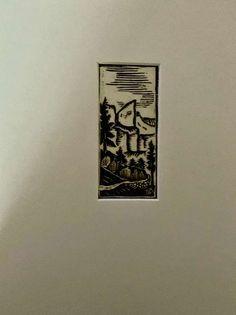 A. K. Schwärzler, Dolomiten um 1930, monogrammiert mit AS,, € 15,- (6361 Hopfgarten-Markt) - willhaben Triangle, Tattoos, Graphics, Pictures, Woodblock Print, Landscape, Tatuajes, Tattoo, Tattos
