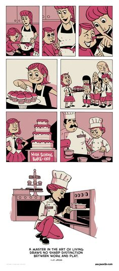 One of my favorite web artists, ZenPencils, takes on an L.P. Jacks quote: Work and Play