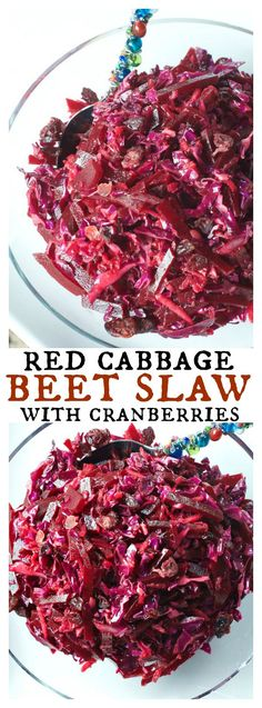 Last week I whipped up a combination of cabbage, beets, grated apple, and dried cranberries into a delicoius recipe, Red Cabbage Beet Slaw with Cranberries. Raw Cabbage Recipe, Purple Cabbage Recipes, Red Cabbage Salad, Cabbage Salad Recipes, Beet Recipes, Slaw Recipes, Raw Food Recipes, Cooking Recipes, Healthy Recipes