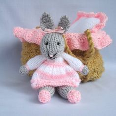 Bunny Rabbit Knitting Patterns | In the Loop Knitting