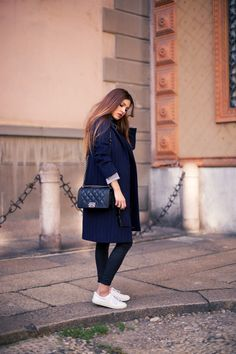 Winter outfit. Simple yet elegant