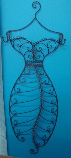 You'll love this vintage inspired wall dress form.Under $100 from our store
