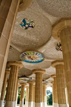 Parc Guell (Gaudi) Barcelona Transfer Barcelona Airport Arrival Shuttle Transfer Vacations in Barcelona The best sightseeing tours in Barcelona and Cataloni