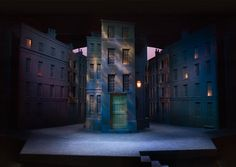 Dr. Jekyll and Mr. Hyde. Oregon Shakespeare Festival. William Bloodgood, scenic design. 2006