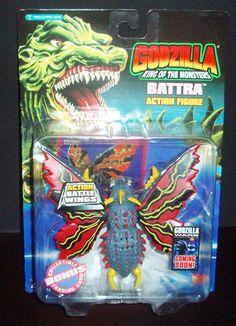 GODZILLA KING OF MONSTERS 1994 BATTRA ACTION FIGURE MOC TRENDMASTERS | eBay