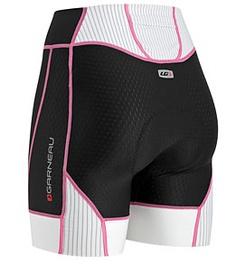 "Louis Garneau Women's Pro Tri Shorts 6"" at SwimOutlet.com - Free Shipping"
