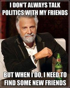 I need some help with politics?