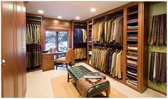 Image result for walk in closets