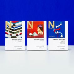 World's premier paper brand Neenah commissioned Washington-based firm Design Army to work on their biggest rebrand ever, recreating their entire Classic paper line.