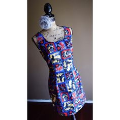 "🕸$0.95 SHIPPING🕸 Comic Book Dress Multicolored Comic Book Dress by R.D.S.  Fits a medium. Measurements: Bust 34"", Waist 30"", From Shoulder to Hem 33"" Perfect for Comic-Con! 🕸$0.95 Shipping for orders of $30 or more! Just let me know what item(s) you're interested in and I'll either discount the item's listing by $5 or create a custom bundle for you with the $5 discount!🕸 RDS Dresses Mini"