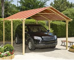 Frontier 5000 Car Port - Carports at Hayneedle