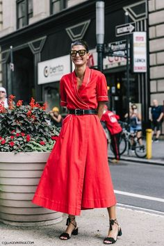 Everything for the Red-Obsessed Fashion Girl