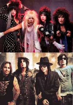 Motley Crue - I gotta say, I don't miss the make-up. And Mr. Sixx has always been the sexiest one.