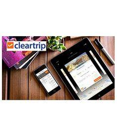 ClearTrip: Get 10% Cashback via Mobikwik Wallet