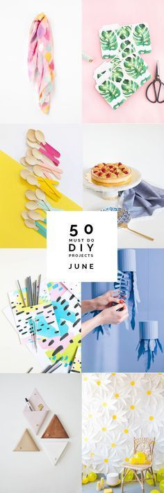 50 Must do DIY's | June It's that time again. Happy July! I'm excited to start a fresh new month and I'm getting some summer inspiration rounding up all these gorgeous DIY things that have been posted over the last 30 days. I've been …