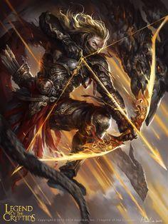 Arquero evolved legend of the cryptids