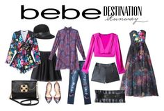 """Destination Runway with bebe : Contest Entry"" by beautifulgirlsblog on Polyvore featuring Bebe and beiconic"