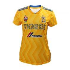 187dbbdce5d Women's Tigres UANL 2018-19 Top Home Soccer Jersey [M987] Cheap Footballs,