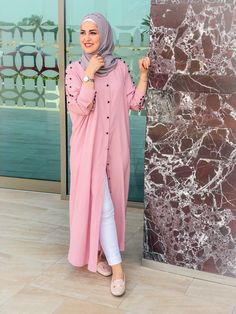 Modest Fashion Hijab, Modern Hijab Fashion, Muslim Women Fashion, Islamic Fashion, Abaya Fashion, Kimono Fashion, Look Fashion, Hijab Fashion 2016, Fashion Dresses