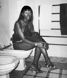 Celebrities on toilets