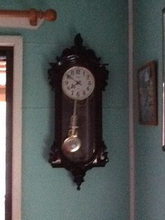 This lovely long case clock has a wonderful loud chime. Was a gift from special friends, Graham and Lewie.