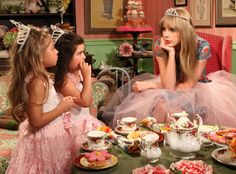 Sophia Grace, Rosie + Taylor Swift............ No Offense but I don like Sophia grace!!!!!!!!! Sophia grace= DIVA!!!! Just my opinion..... But I love Taylor Swift!!!!