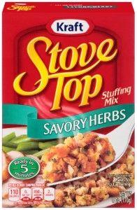 Stove Top Stuffing Mix, Savory Herb, 6 Oz