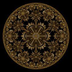 ☯☮ॐ Bohemian Psychedelic Mandala ~ Mandala Painting, Mandala Art, Fractal Generator, Feng Shui, Visionary Art, Geometric Art, Fractal Art, Sacred Geometry, Digital Art