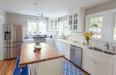 Red and Green Kitchen Makeover - Kitchen Before and After - Good Housekeeping