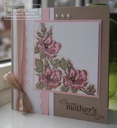 Mothers Day card using Happiness Shared from Stampin' Up