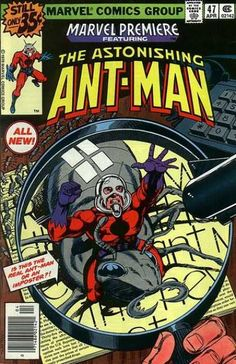 What happens when Scott Lang, former electrician to the Avengers, steals Hank Pym's shrinking particles? Check out Scott Lang, Ant-Man, suited up for the first time! Marvel Comics, Ms Marvel, Marvel Comic Books, Comic Books Art, Comic Art, Book Art, Marvel Art, Marvel Heroes, Marvel Room