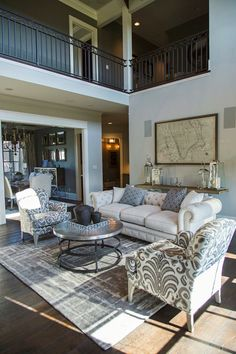 Ewing Ford Parade Home 2015- Coomer & Co. #livingroom #coomerandco