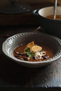 zuppa di fagioli alla messicana con tostadas-14