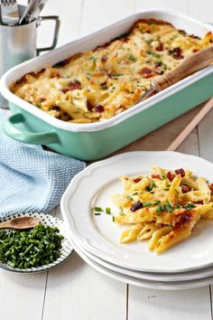 Cremiges Nudel-Schinken-Gratin – Rezept für den Thermomix® Macaroni And Cheese, Zucchini, Ethnic Recipes, Party, Food, Suppers, Easy Meals, Summer Squash, Mac And Cheese
