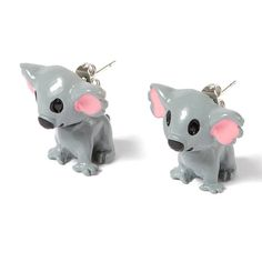 Koala Front and Back Stud Earrings | Claire's