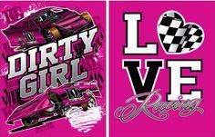 LOVE Racing Dirt LM & Dirt Mod Glitter Hoodie – Dirty Girl Racewear